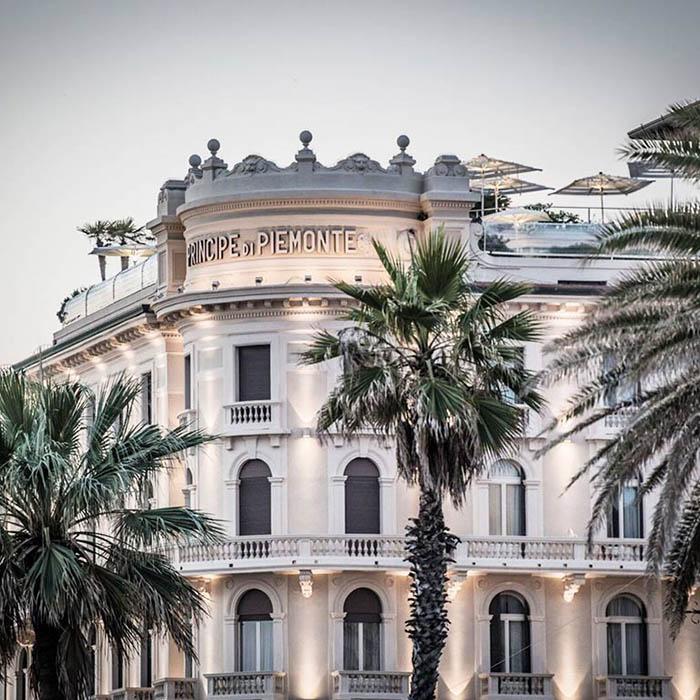 Grand Hotel Principe di Piemonte, Viareggio, Toskana