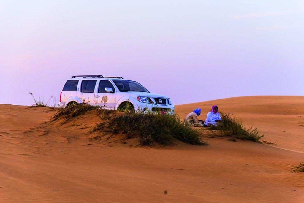 Der SUV hat den Wüstentest eindeutig bestanden