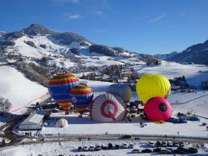 Château-d'Oex / 42. Internationales Ballonfestival