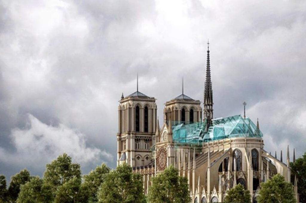 Notre-Dame Entwurf für den Wiederaufbau_Alex Nerovnya