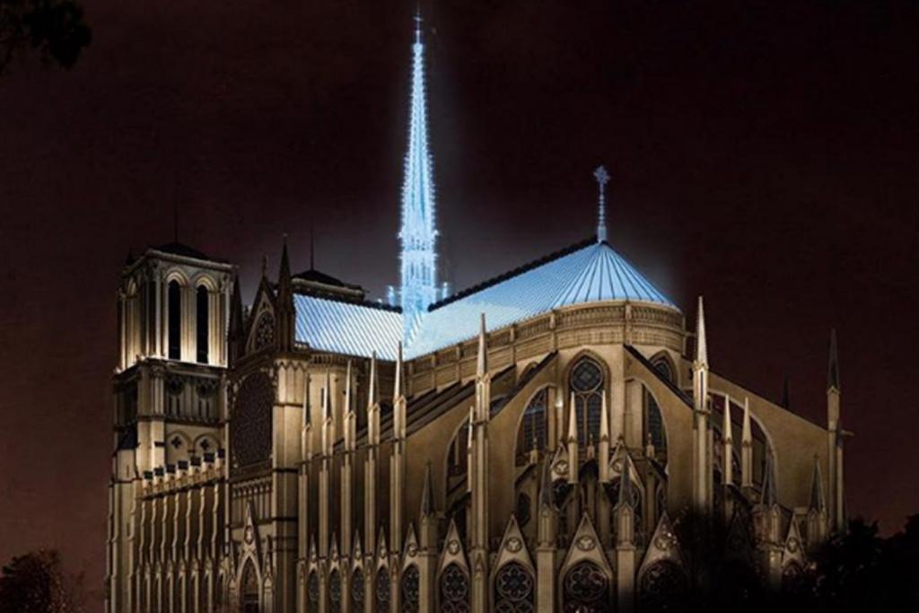 Notre-Dame Entwurf für den Wiederaufbau_Fuksas Architects