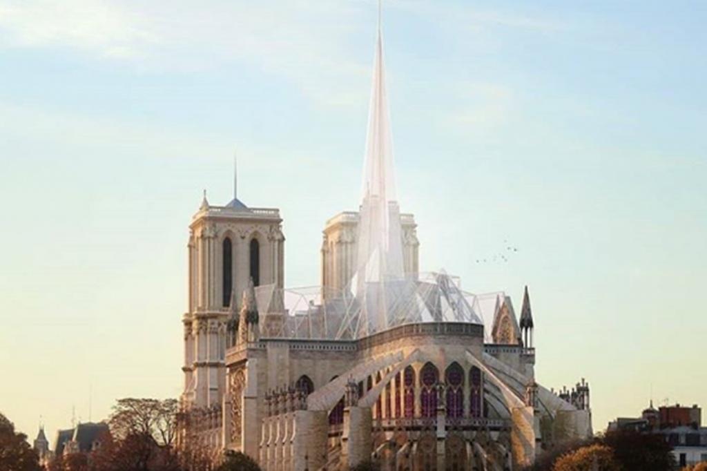 Notre-Dame Entwurf für den Wiederaufbau_Poa Estudio