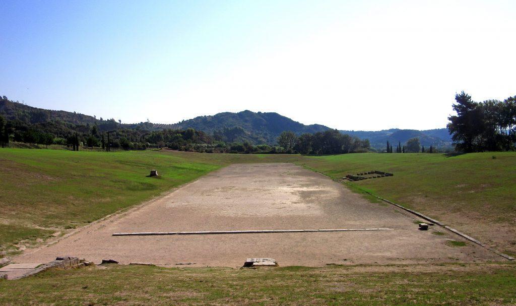Das Stadion von Olympia
