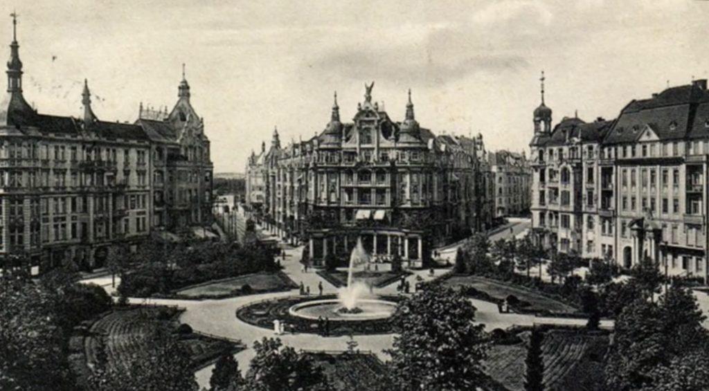 Viktoria-Luise-Platz , um 1900