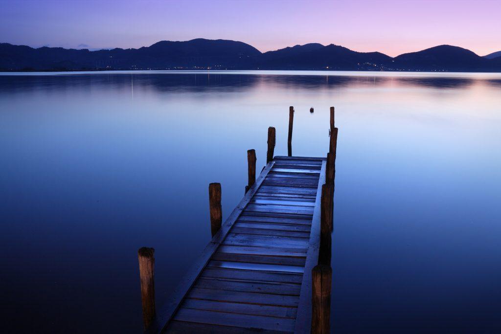 In seiner Villa am Massaciuccoli-See mit Blick auf die apuanischen Alpen schrieb Puccini die meisten seiner Werke